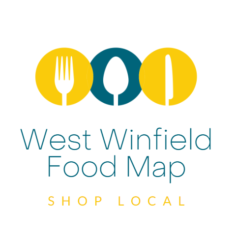 West Winfield Area Food Map